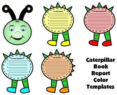 Free College Book Report Templates at